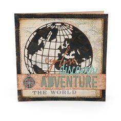 Explore, Discover, and Adventure Card - Scrapbook.com