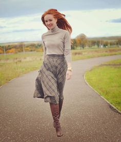 The Winter Dancing Skirt by Forever Amber. Not a huuuuuge fan of the boots but the rest of the outfit is CUTE.