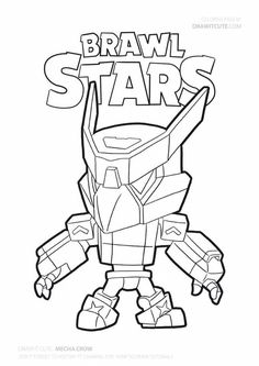 The Effective Pictures We Offer You About Brawl Stars Coloring Pages crow A quality picture can tell Star Coloring Pages, Coloring Pages For Boys, Coloring Sheets, Desenho Do Star Wars, Drawing Lessons For Kids, Printable Star, Star Art, Printable Coloring, Kids Decor
