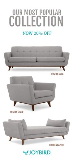68 best Custom Mid-Century Furniture images on Pinterest   Couches ...