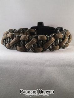 ACU Camo Duo Tone Paralix Paracord Bracelet with Emergency Whistle Buckle - Paracord Heaven - 1