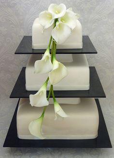 Calla Lily Wedding Cakes | White Calla Lily Wedding Cake | Flickr - Photo…