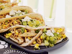 Pulled Chicken & Grilled Corn Tacos | Food & Wine goes way beyond mere eating and drinking. We're on a mission to find the most exciting places, new experiences, emerging trends and sensations.