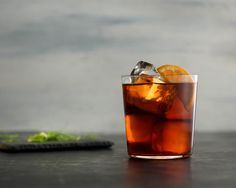 Raise a glass to the holidays with Dale Degroff's Brilliante, a tasty cocktail made with our Kilimanjaro blend. Image courtesy of Francesco Sapienza and Maeve Sheridan. Ice Molds, Coffee Cocktails, Cocktail Making, Iced Coffee, Tasty, Kilimanjaro, Holidays, Glass, Image