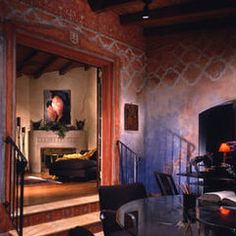 mediterranean family room by RAFAEL DAVILA