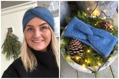 desember 2019 Chrochet, Bandana, Ravelry, Knitwear, Winter Outfits, Knitting Patterns, Diy And Crafts, Projects To Try, Winter Hats