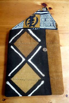 African Mud Cloth iPad Sleeve by threadsofchange on Etsy, $52.00