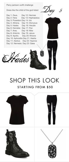 """Day 5/ Hades"" by archer10 ❤ liked on Polyvore featuring Vince, Miss Selfridge and Giuseppe Zanotti"