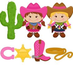 Items similar to OFF SALE! - Little Cowgirl - Digital Clip Art - Personal and Commercial Use - scrapbooking, horse shoe, boot, sheriff badge, rope on Etsy Horse Birthday Parties, Girl 2nd Birthday, Cowgirl Birthday, Birthday Ideas, Cowgirl Baby, Little Cowgirl, Cowboy And Cowgirl, Free Adult Coloring, Black And White Lines