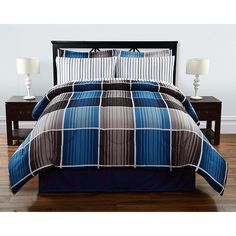Colormate Complete Bed Set - Cooper Plaid - Home - Bed & Bath - Bedding - Comforters