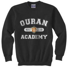 Ouran High School Host Club Academy Crewneck Sweatshirt - Unisex