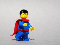 Andrew Becraft created a series of custom LEGO minifigures that look like famous superheroes from Marvel and DC comic books. Famous Superheroes, Superman Kids, Dc Comic Books, Avengers Movies, Custom Lego, Geek Culture, Legos, Rock And Roll, Smurfs
