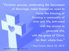 Our families must be communities of love and life. Read more at: www.news.va/en/news/at-the-general-audience-pope-francis-calls-for-pra