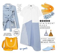 """Sunny Day"" by taci42 ❤ liked on Polyvore featuring Jonathan Saunders, Clu, Levi's, Miista, Black and Modalu"