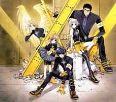 Kohaku (Wish) & Suu and Kazuhiko (Clover) & Sakura and Kero-chan (Card Captor Sakura) & Kamui (X/1999) #manga