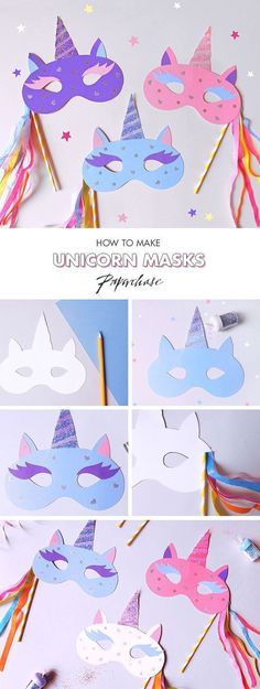 Unicorn diy crafts- images ideas express your interests единорог, подел Unicorn Diy, Unicorn Crafts, Diy For Kids, Crafts For Kids, Arts And Crafts, Unicorn Birthday Parties, 8th Birthday, Birthday Activities, Activities For Kids