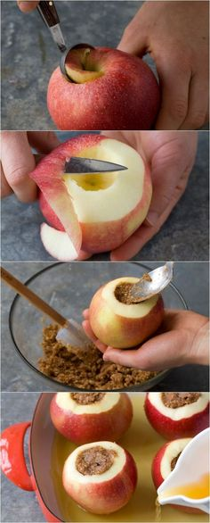 How to make the BEST baked applles