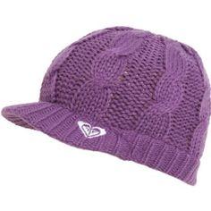 """Roxy """"Sweet Dreams"""" Visor Beanie Purple $19.98"""