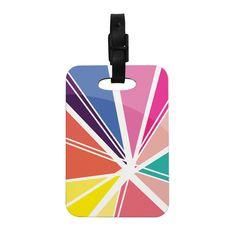 "Belinda Gillies ""Boldly Bright"" Decorative Luggage Tag"