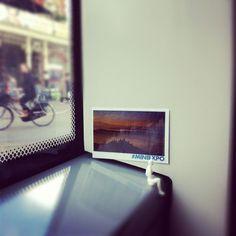 Belvedere in the MistvanManuel Meewezen #miniexpo    Expositiedatum: 14 april 2012  Locatie:Tram 2, Amsterdam
