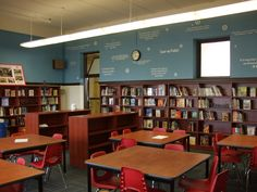 Image result for school library design