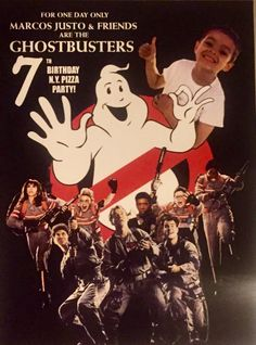 What a great theme to work with this year. A Ghostbusters New York Pizza Birthday Party!  Who ya gonna call?