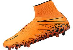 Nike Hypervenom Phantom II FG Soccer Cleats - Total Orange