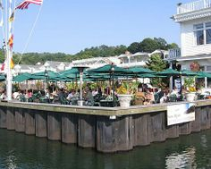 Dining in port jefferson
