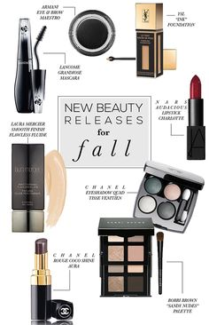 New Beauty Releases for Fall | STYLE'N