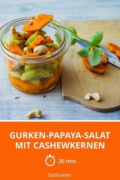 Papaya Salat, Chili, Tasty, Yummy Food, Eat Smarter, Paleo Diet, Healthy Choices, Detox, Food Videos