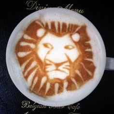Catty coffee - Amazing Latte Art
