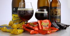 Trick-or-treating is about to take on a whole new meaning for grown-ups. We present the updated Craft Beer & Brewing candy and craft-beer pairings for Halloween.