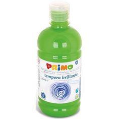 Primo világos zöld színű tempera festék 500 ml PET tégelyben - 600 Ft Ár 790 Tempera, Petra, Soap, Bottle, Flask, Bar Soap, Soaps, Jars