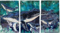 Hawaiian Sea Turtle, Hawaiian Art, Bathroom Wall Art, Office Bathroom, Hawaiian Designs, Whale Art, Humpback Whale, True Art, Ceramic Design