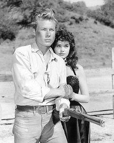 "Slim Sherman (John Smith) in Laramie's ""Iron Captain"" John Smith Actor, Actor John, Laramie Tv Series, Charlie Carver, Clint Walker, Robert Fuller, The Virginian, Tv Westerns, Clint Eastwood"