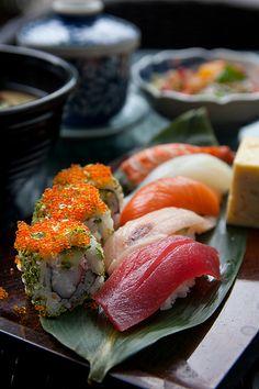 nigiri & roll @ Fukuichi Japanese Dining Restaurant, Singapore