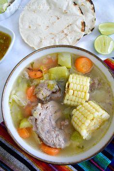 Orange vinegar can, braised endive - Healthy Food Mom Gourmet Recipes, Mexican Food Recipes, Soup Recipes, Cooking Recipes, Healthy Recipes, Ethnic Recipes, Healthy Food, Guatamalan Recipes, Colombian Food