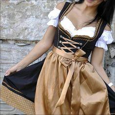 Oktoberfest Gr.34 bis 52 !!ORIGINAL LIFOS!! Dirndl Trachtenkleid 3Tlg 09.