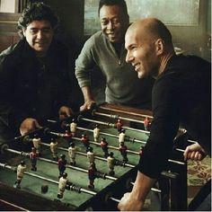 Zidane, Pelé & Maradona