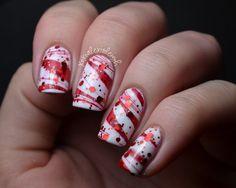 Christmas Sweater Nails - Christmas Nail Art