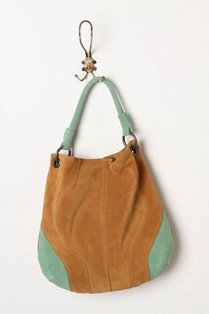 So me!  I could do some serious damage at this store.  Mint-Dipped Hobo #anthropologie