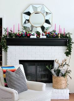 Who says you can't add a pop of color to your Christmas decorations? With decor inspiration for jewel-tone ornaments and mantle ideas, your home can be ready for the holidays in style!