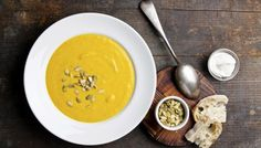 Coconut Pumpkin Soup Recipe - I Quit Sugar (leave out the bread and it's AIP compliant)