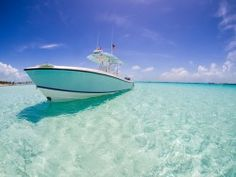 Yacht on the Ocean Wallpaper