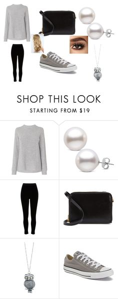 """""""Annabeth Outfit #1"""" by alicia-734 ❤ liked on Polyvore featuring River Island, Sophie Hulme, Pavcus Designs and Converse"""