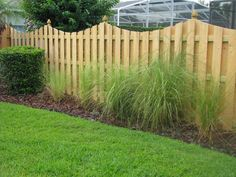 """Known as the """"neighbor-friendly"""" or """"good neighbor"""" fence, the wood shadowbox fence is a popular choice, because it looks great on both sides! Good Neighbor Fence, The Neighbor, Wood Fence Design, Patio Design, Privacy Fences, Wood Fences, Fencing Companies, Western Red Cedar, Decks And Porches"""
