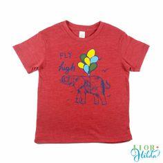 Fly High Tee || Organic Tri-blend Vintage Eco-friendly T-Shirt