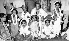 Baba and young dancers