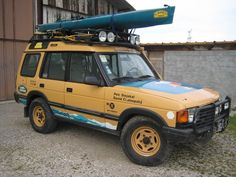 Rare, true discovery Camel Trophy fully equipped original, with vtt, helmets, canoe, etc. Exclude state of origin, original English papers, participated in the Camel Mongolia 1997. | eBay!