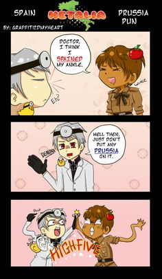 Spain and Prussia lol